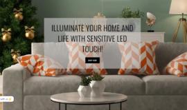 Sensitive LED Touch – E-commerce – Gamme: Premium ⭐⭐⭐