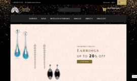 Jewelry Store – E-commerce – Gamme: Premium Supérieure ⭐⭐⭐⭐