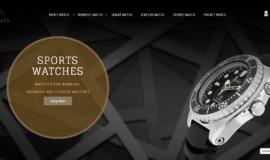 Watch Store – E-commerce – Gamme: Premium ⭐⭐⭐