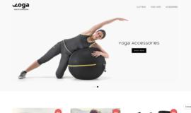 Yoga Shop – E-commerce – Gamme: Basique ⭐⭐