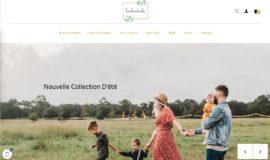site de prêt à porter enfant avec 5 marketplace